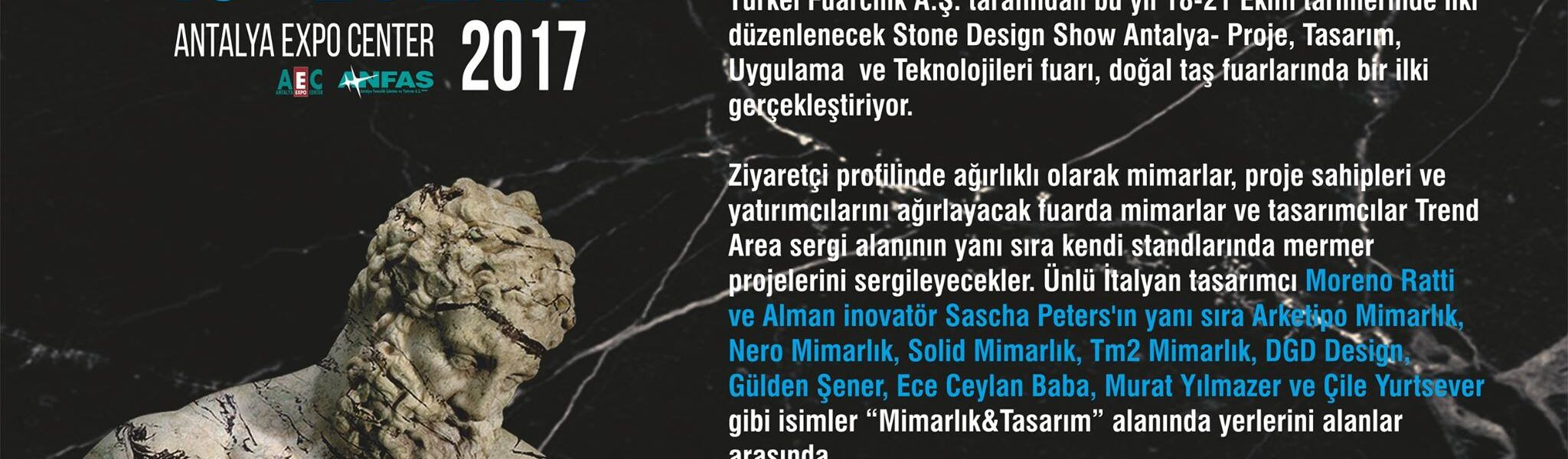 Stone Design Show 18 21 October 2017 Turkey Turkel